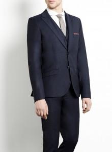 suit bleu