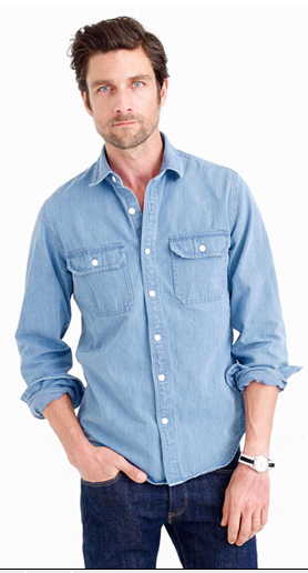 esquire-jcrew-chemisier denim
